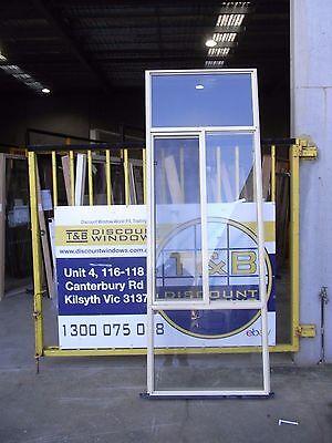 Aluminium Sliding Window 2530H x 890W (Item 3120/2 ) Paperbark