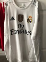 Real Madrid Home Jersey Longsleeve James Rodriguez