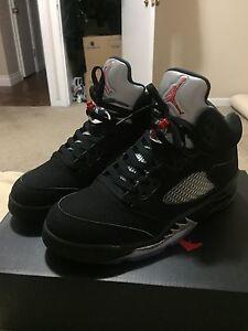 Nike air Jordan 5 Metallic sz 8.5
