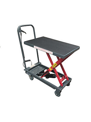 Pake Handling Tools - Hydraulic Manual Scissor Lift Table 500lbs