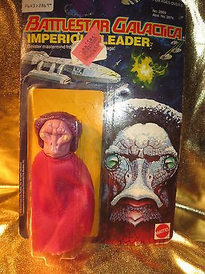 Imperious Leader Battlestar Galactica 1978 Mattel  Action Figure NEW Sealed