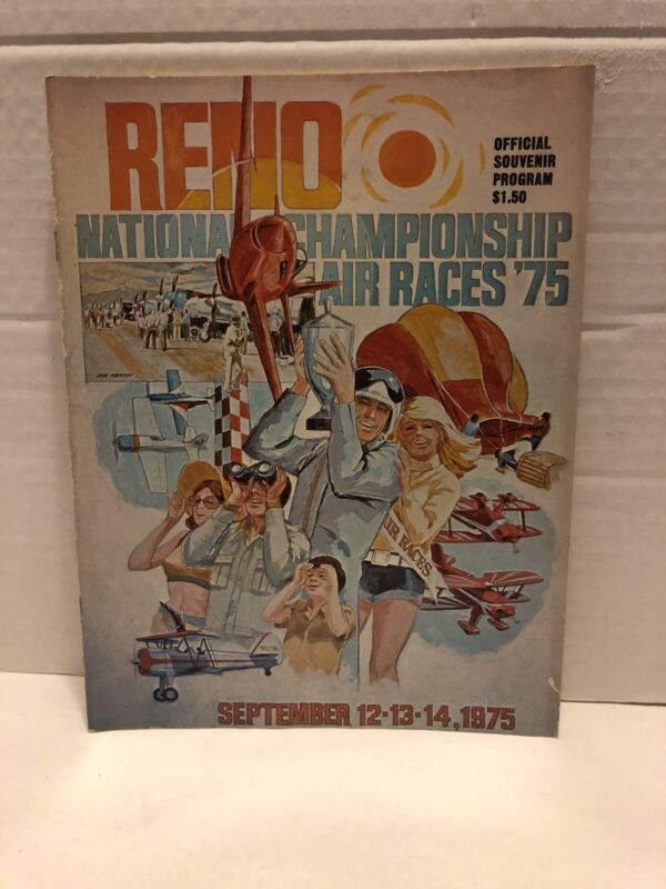 Vintage Reno National Championship Air Races '75 Program