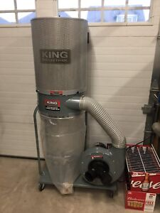 Like new king dust collector