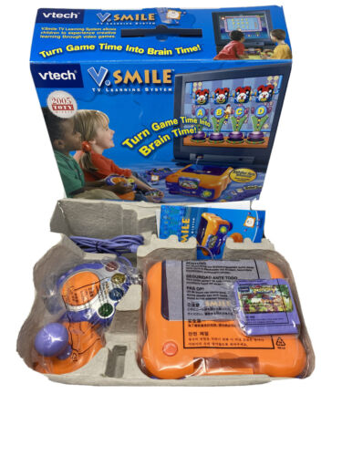 V. SMILE TV LEARNING SYSTEM WITH ALPHABET PARK ADVENTURE SMA