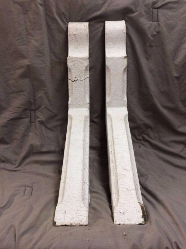 Pair Antique Corbels Porch Column Bracket Shabby Vintage Chic 2070-16