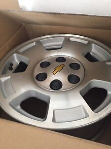 2012 Chevy 17 inch Alloy wheels only