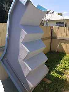 fibre glass pool stairs for above ground pool Kallangur Pine Rivers Area Preview