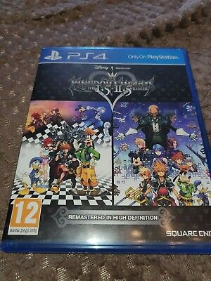 Kingdom Hearts HD 1.5 and 2.5 Remix (PS4) EXCELLENT CONDITION