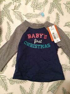 NWT baby's first Christmas shirt