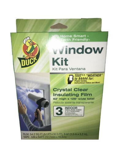 Brand 62-by-126-Inch 3-Window Shrink Film Window Insulator K