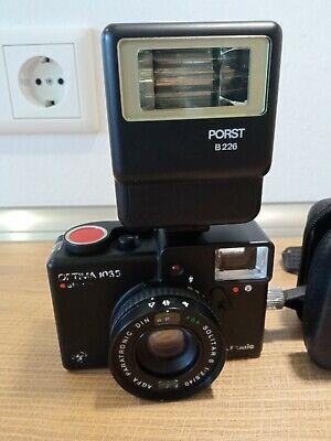 Agfa Optima 1035 Kamera mit Blitz Porst B226