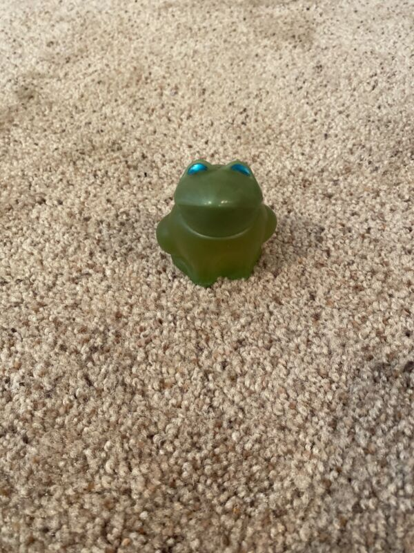 Vintage AVON Emerald Prince Frog Sweet Honesty Cologne New with Box 1 oz
