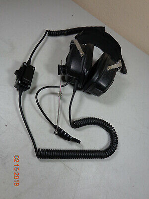 Setcom 7 Industrial Headset 7m-pr4mo 2.5mm3.5mm Motorola Kenwood Bk Radio C14
