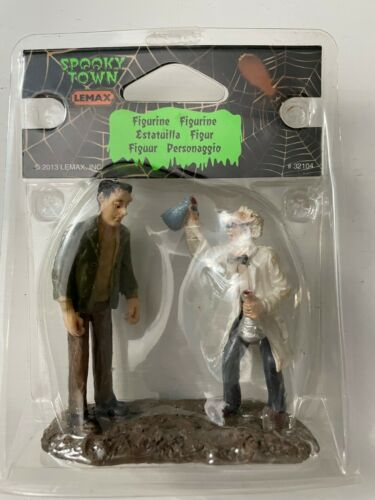 *NEW* Lemax Spooky Town #32104 Mad Scientist Monster Accessory Figure! L@@K