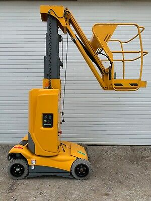 2012 Haulotte Star 22j Electric Vertical Mast Lift 197 Hours