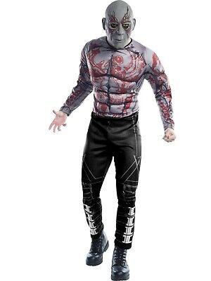 Guardians Of The Galaxy Drax The Destroyer Kostüm Marvel Rubies 620010