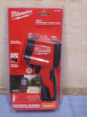 New Milwaukee 2267-20h 101 Infrared Thermometer Lcd Display Temperature Gun