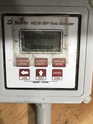 New Cameron Nuflo Mc-iii Wp Flow Analyzer