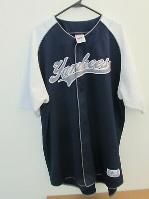 0f2c0ed24f4 New York Yankees Jersey True Fan Size 2XL/ EEG 50-52 Mens