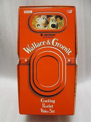 Wallace and Gromit Rocket box  - Japanese original  MEGA RARE VHS BOX