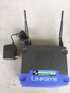 Linksys WRT54G wifi router with 4 LAN port
