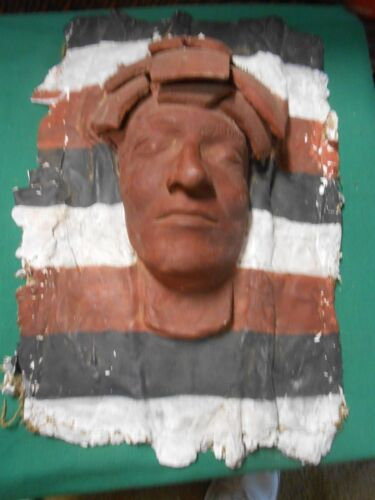 Great Collectible Handcrafted Plaster Vintage DEATH MASK....SALE