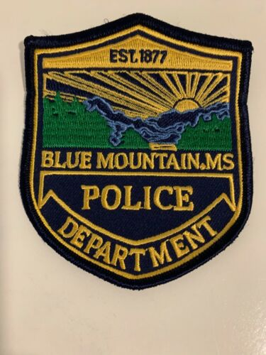 Blue Mountains Police State Mississippi MS Scenic