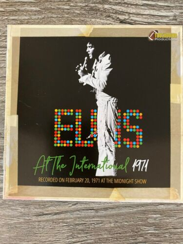 Elvis Presley cd - At The International 1971