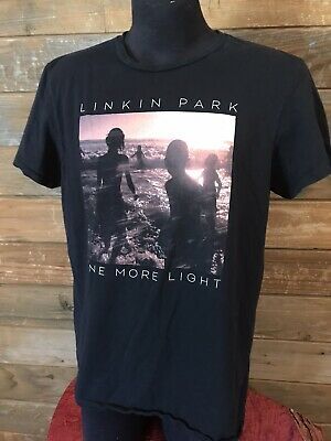 Linkin Park One More Light Tour T-shirt Men's Large