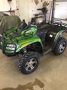 2012 Arctic cat 700cc (power steering) 50th anniversary addition