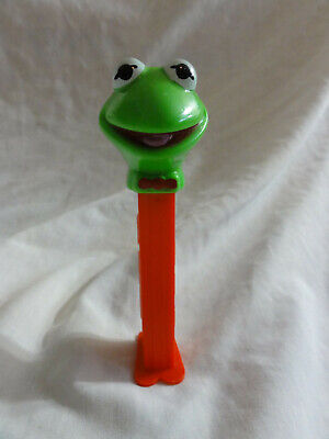 PEZ MUPPETS ~ Kermit the Frog ~ Issue A ~ JHP copyright ~ 4.9 HUNGARY