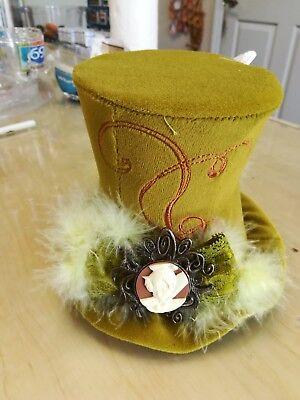 Disney  Fairy Tinker Bell / Mad Hatter - Mini Hat - Mad Hatter Mini Hat