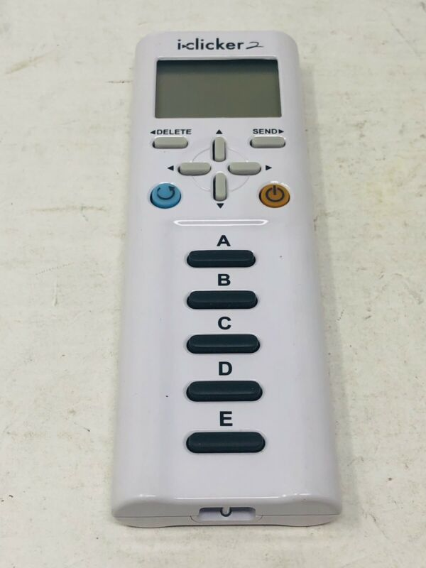 iClicker 2 Student Response Clicker Remote (2nd Edition) - Tested and Works