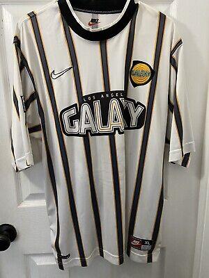 Rare Vintage Original 1997 Nike LA Galaxy Futbol Soccer Jersey Men's XL image