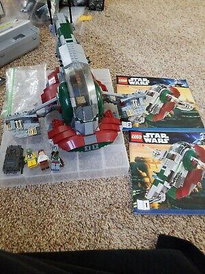 LEGO Star Wars Retired Slave I 8097 Complete! No box