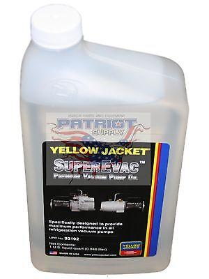 Yellow Jacket 93192 Superevac 1 Quart Vacuum Pump Oil Super Evac