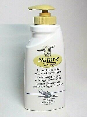 NATURE BY CANUS LAVENDER OIL MOISTURIZING LOTION WITH FRESH GOATS MILK Canus Goats Milk Moisturizing