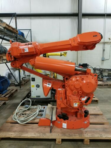 ABB IRB 6400 ROBOT COMPLETE WITH CONTROLLER, TEACH PENDANT AND CABLES