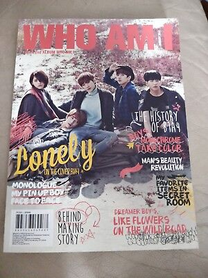 Who Am I By B1a4  Cd  Jan 2014