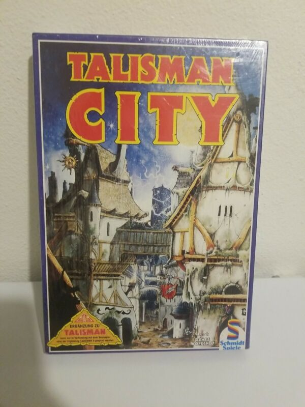 Talisman 2nd Edition Game City Expansion Set 1989 Complete - Factory Sealed !