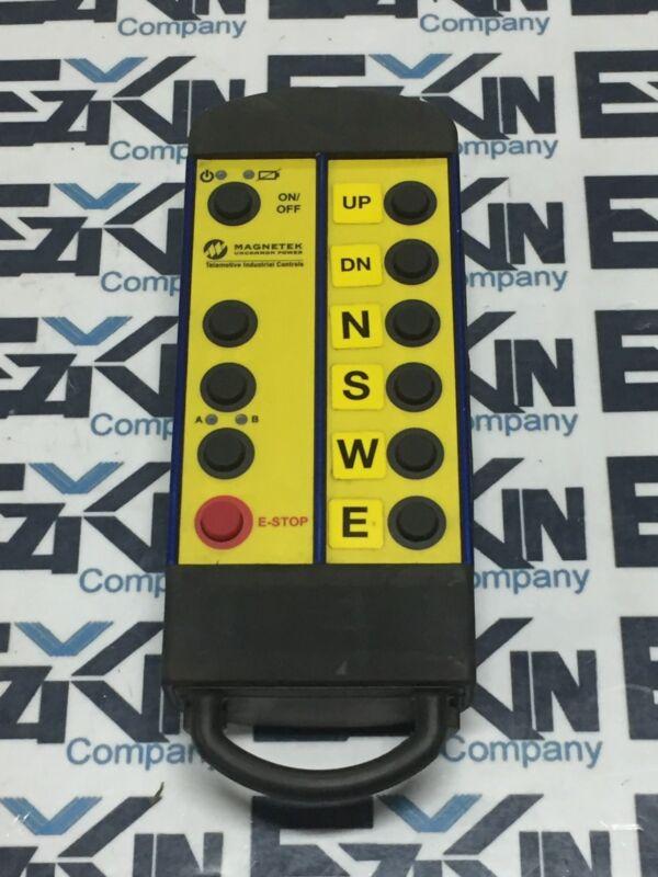Magnetek Uncommon Power FCC ID:GXZE10647B Crane Hoist Radio Remote Control