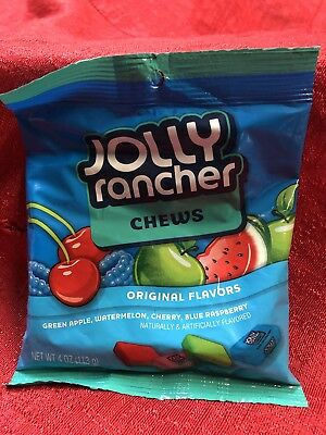 Jolly Rancher Chews, 4oz. Bag New Sealed - Jolly Rancher Chews