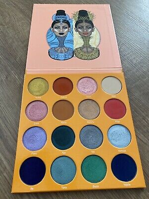 Juvias Place The Magic Palette - Swatched