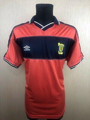 SCOTLAND 1999/2000 AWAY FOOTBALL SOCCER JERSEY SHIRT UMBRO SIZE XL image