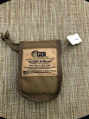 GDI R-COM E-Model Trijicon ACOG Quick Detach Mount