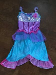 Ariel costume with shoes and tiara