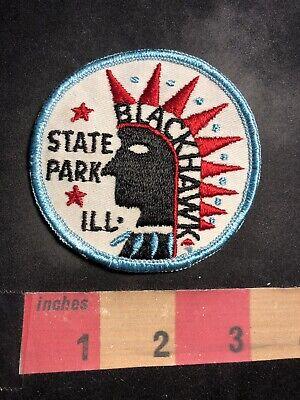 Blackhawk Park (Vintage Native American Indian Theme BLACKHAWK STATE PARK Illinois Patch 94Z8)