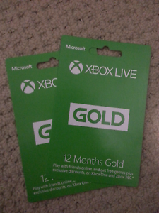 Xbox Live Gold 12 Months x2 Sydney City Inner Sydney Preview