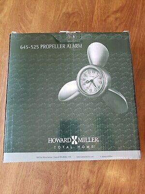Howard Miller Nautical Propeller Wall or Desk Clock