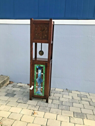 ANTIQUE  rare SHOP of THE CRAFTER G F CLOCK